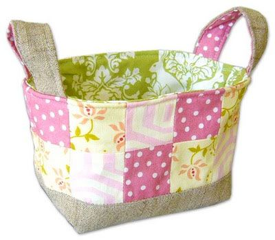 Fabric storage baskets tutorial: Craft, Idea, Sewing Projects, Fabricbasket, Bag, Fabric Basket Tutorial, Fabrics, Baskets