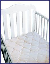 Alèse pour lit de bébé 28'' x 52'' en sherpa organique