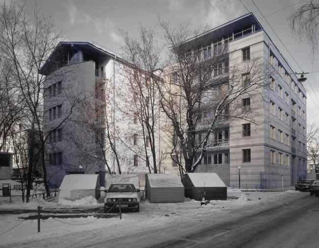 Жилой дом в Зубовском проезде