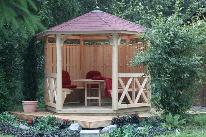 Garden Pavilion Made Of Wood For Every Garden บ านโมเด ร น