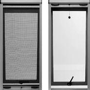 Door = no flyscreen Windows = casement with this internal flyscreen (hidden under roman blind) Retractable Fly Screen : CurtainSmart - Custom Made Curtains, Blinds, Plantation Shutters and Retractable Fly Screens