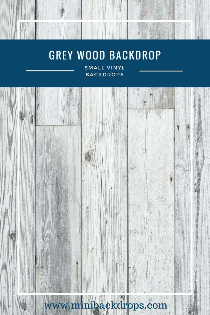 Grey Wood - Mini Vinyl Backdrop - 022-w – Mini Backdrops