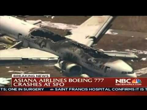 Boeing 777 Asiana Airlines Flight 214 Plane Crash LIVE News Coverage (NBC)