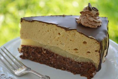 Troll a konyhámban: Gesztenye mousse torta gyömbéres körte zselével - paleo