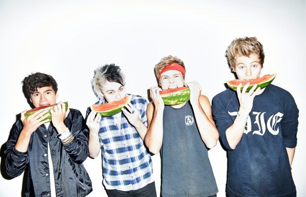 """I love America; it's a great place for our band""—10 minutes with 5 Seconds Of Summer - Alternative Press"
