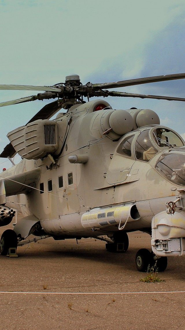 Mi-24, Mil, Hind, attack helicopter, Crocodile, flying tank, Russian Army, Russia