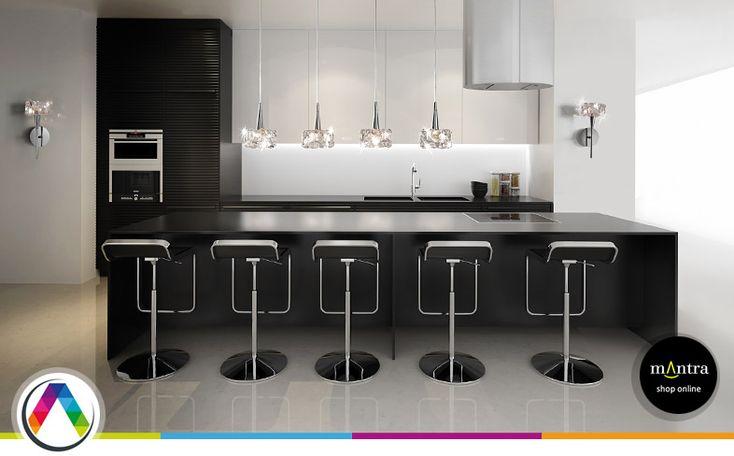 M s de 1000 ideas sobre iluminaci n de colgantes de cocina - Luces para muebles de cocina ...