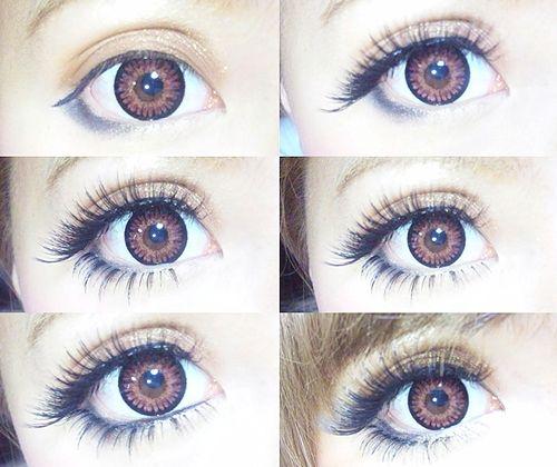 Gyaru makeup & circle lenses