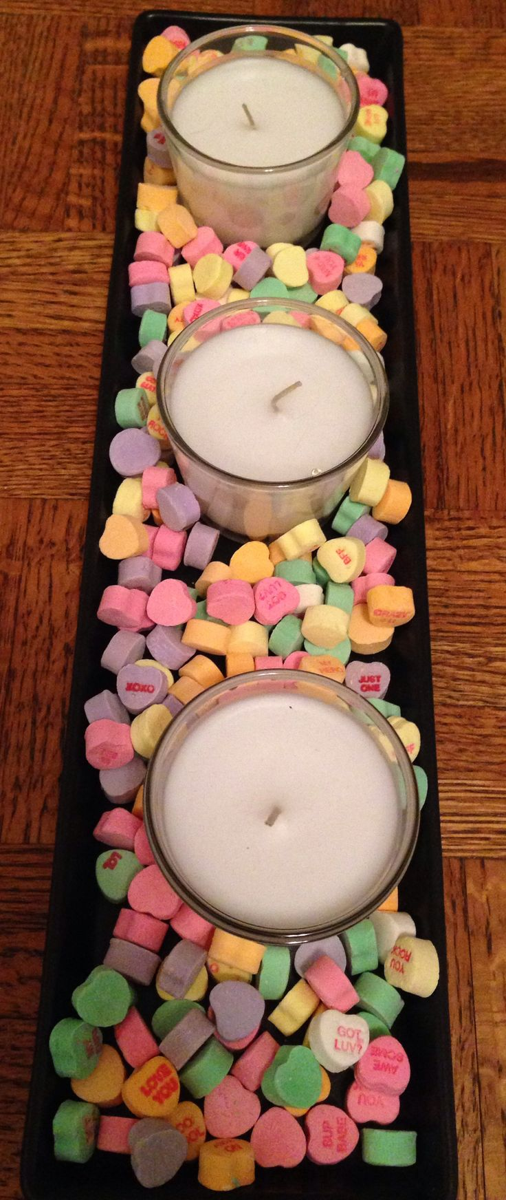 From previous pinner: Cute Valentine's Day decoration!