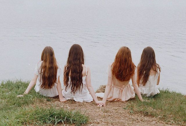 Photos, Girls, Sisters, Friends, Mariam Sitchinava, Long Hair, Lakes, Bridal Parties, Photography