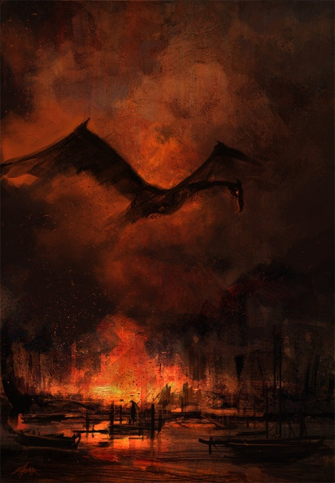 """""""It does not do to leave a live dragon out of your calculations, if you live near him."""" -JRR Tolkien"""