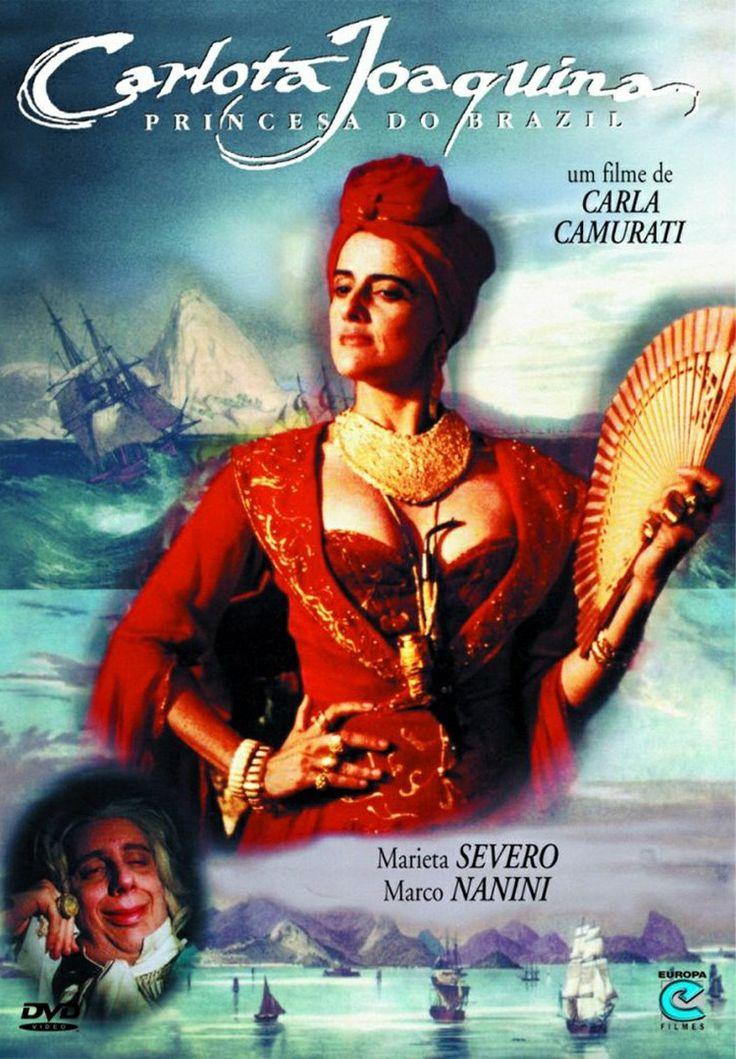 """""""Carlota Joaquina, Princesa do Brazil"""", de Carla Camurati - A vida da infanta espanhola Carlota Joaquina (Marieta Severo) e da família real no Brasil. #52FilmsByWomen"""