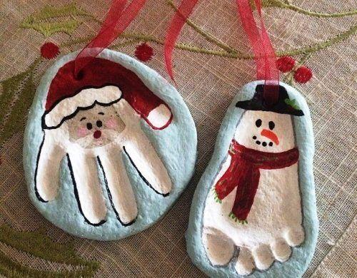 90 Weihnachtliche Salzteig Ideen, die Sie mit Kindern leicht nachmachen können