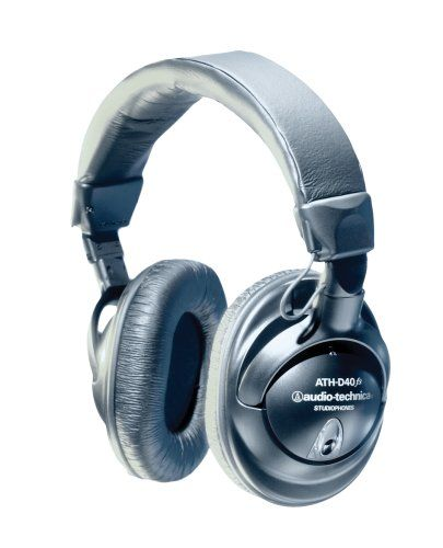 Music Headphones - Pin it :-) Follow us, CLICK IMAGE TWICE for Pricing and Info . SEE A LARGER SELECTION of music headphones at http://azgiftideas.com/product-category/music-headphones/  - gift ideas -   Audio-Technica ATH-D40fs Professional Studio Monitor Precision Enhanced Bass Headphones