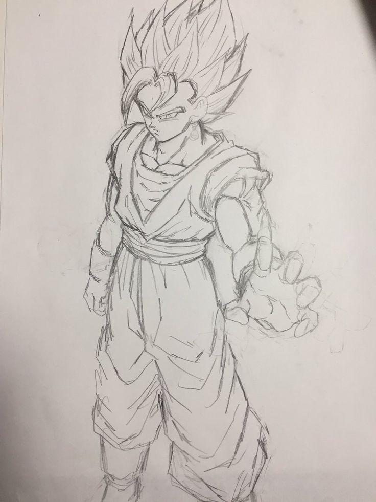 """Vegito: Reborn!"" Drawn by: Young Jijii. Found by: #SonGokuKakarot"