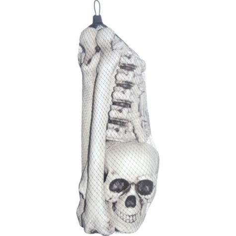 68 best images about skeletons body parts halloween on for Bag of bones halloween decoration