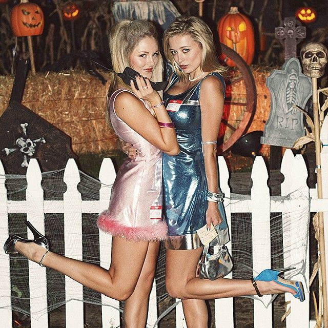 Pin for Later: 12 Bomb Dot Com Halloween Costumes For Couples Romy and Michele: The Costume