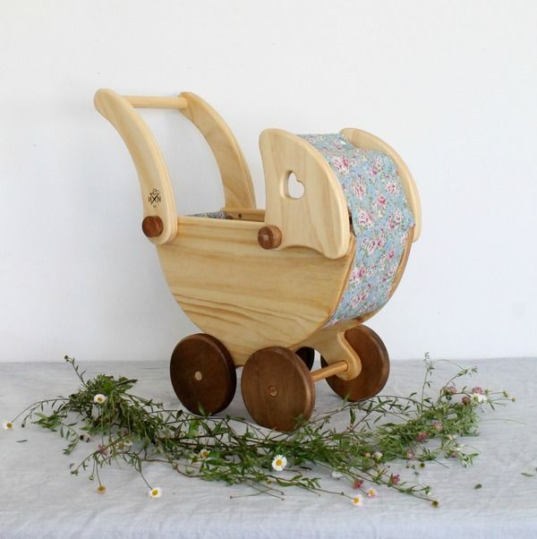 Needle and Nail | A - **PREORDER** WOODEN DOLL'S PRAM
