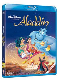 Recension av Aladdin. Animerat av Ron Clement & John Musker med Linda Larkin, Robin Williams, Gilbert Gottfried, Scott Weinger och Jonathan Freeman.