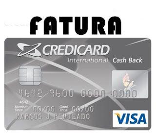 Fatura Credicard Cash Back International Visa http://www.faturacard.com/2015/11/fatura-credicard-cash-back-internacional-visa.html