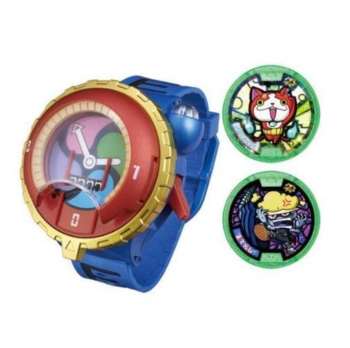 Hot DX Yokai Watch ( Yo-Kai Cartoon Electronic toy ) Insert the card imitate characters Jibanyan sound