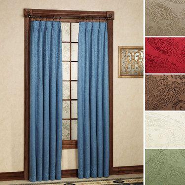 Gabrielle Pinch Pleat Thermal Room Darkening Curtains Pinch Pleat Curtains Room Darkening