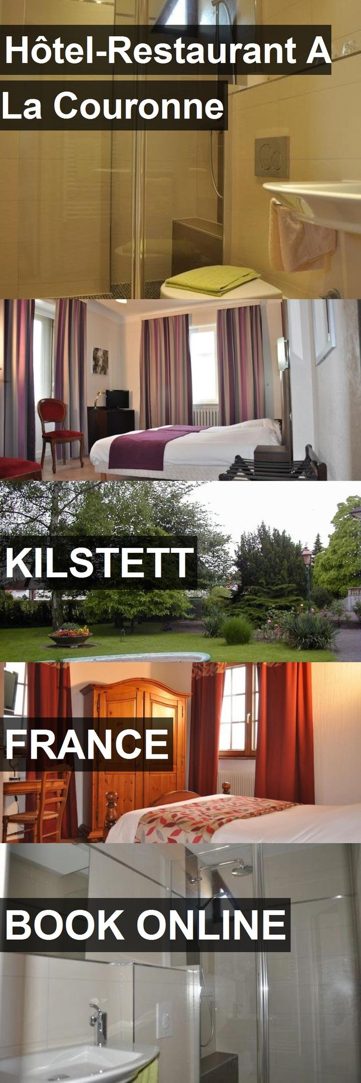 Hotel Hôtel-Restaurant A La Couronne in Kilstett, France. For more information, photos, reviews and best prices please follow the link. #France #Kilstett #travel #vacation #hotel