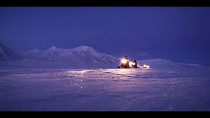 Experience the polar night and the northern lights in Svalbard
