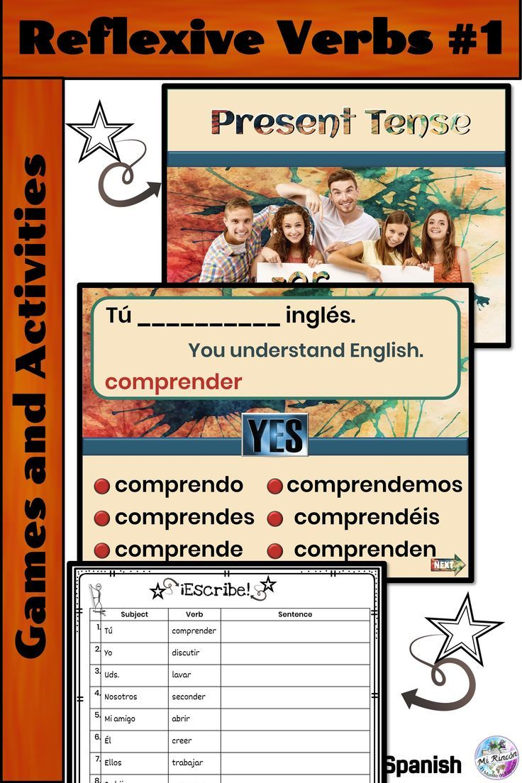 Spanish Present Tense Practice Part 1 Distance Learning Conjugation Practice Vocab Activities Spanish Language Learning [ 1104 x 736 Pixel ]