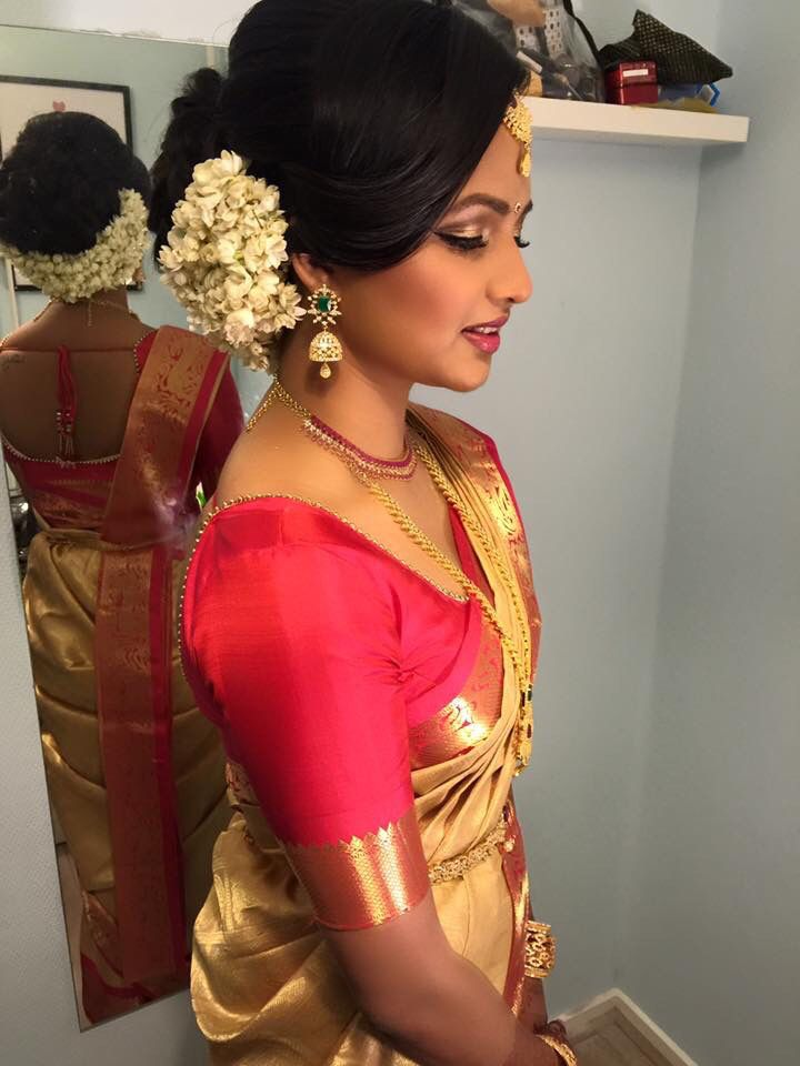 30 Hairstyles For South Indian Saree Hairstyles Ideas Walk The