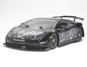 The Lamborghini Gallardo Supertrofeo (TT-01E) is a 1/10th scale RC radio control on road car based around the user-friendly TT-01E chassis.    This kit is perfect for any radio control car enthusiast who wants the ease of a tried and tested chassis with the looks of a world class car.