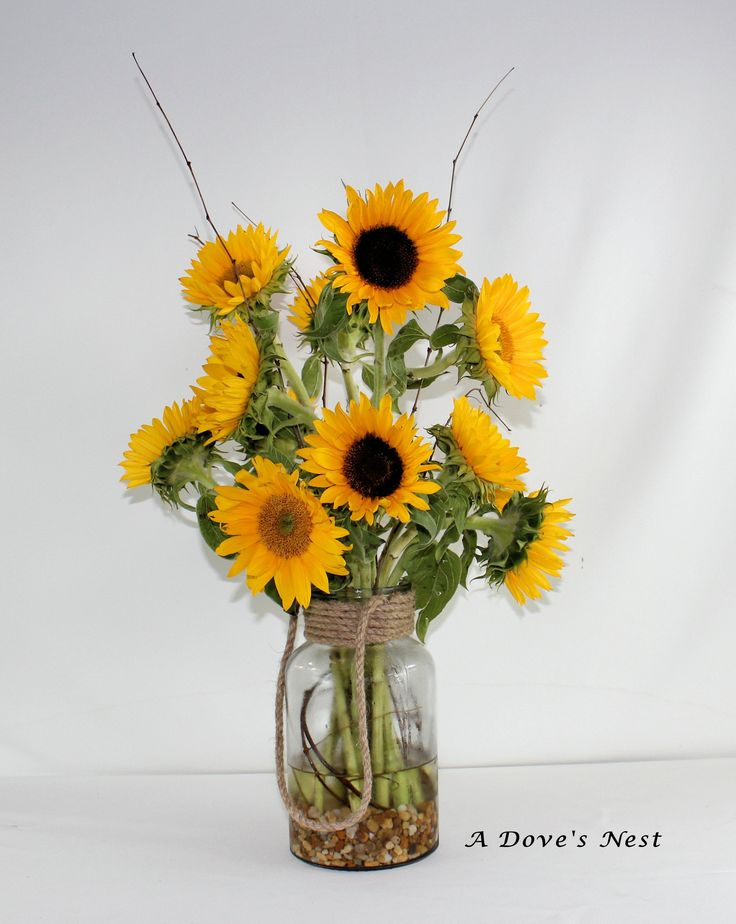 Sunflowers Sunflower Floral Arrangements Pinterest