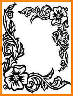 4 Simple Border Designs For School Projects To Draw Sample Of