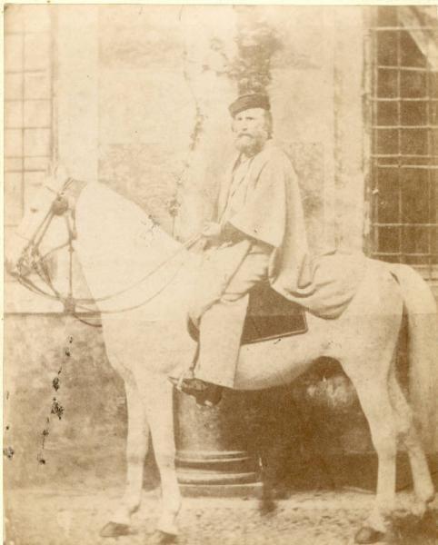 Ritratto maschile - Giuseppe Garibaldi