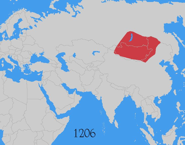 When the Mongols took over the known world:  conquered much of the known world from China to Europe, a series of wars that killed tens of millions of people, a substantial chunk of the world's population. They also established the largest empire in history until the British surpassed them six centuries later. It's difficult to understate how much we still feel their impact today