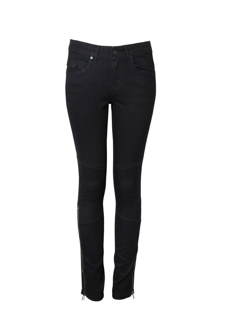 Side Zip Jean