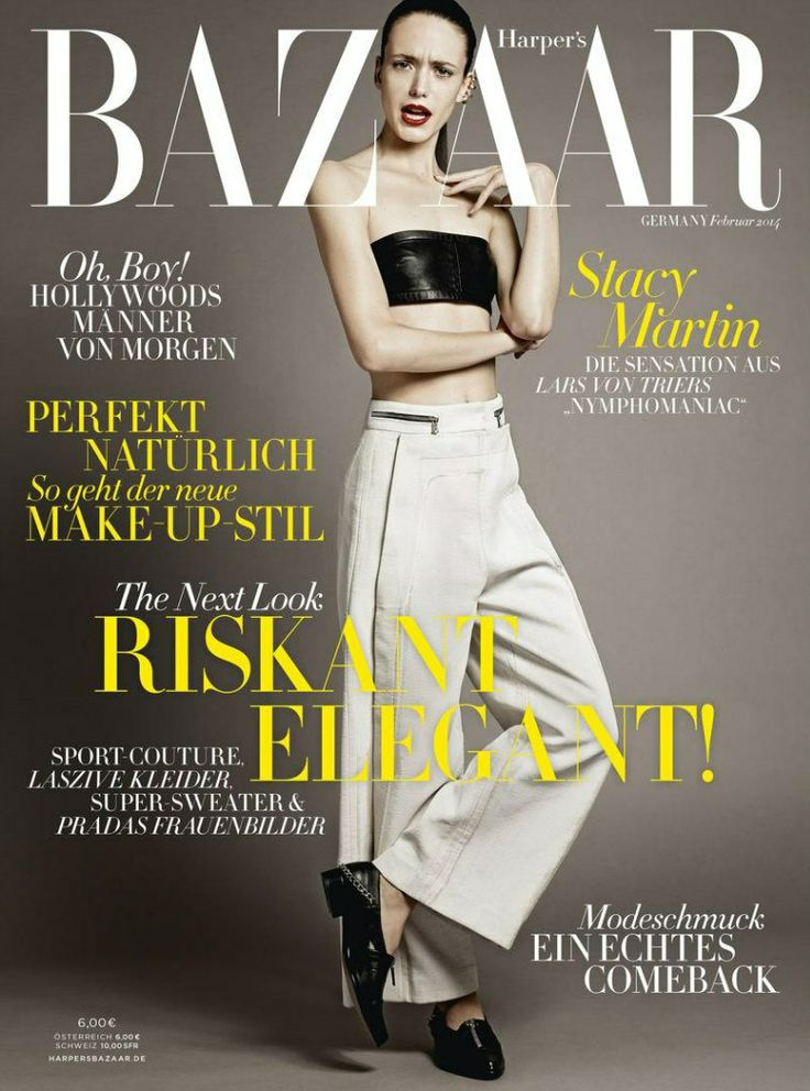 #StacyMartin Harper's Bazar, February, 2014