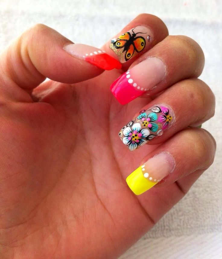 32 best NailArt con Ghem y Fantasy Nails images on Pinterest ...