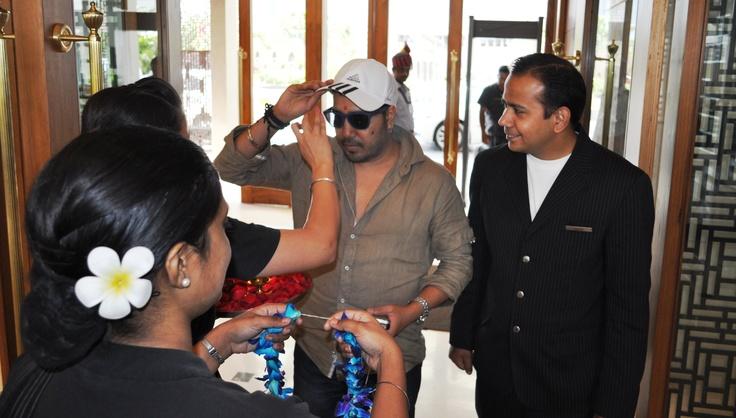 #Mika Singh in #Ahmedabad