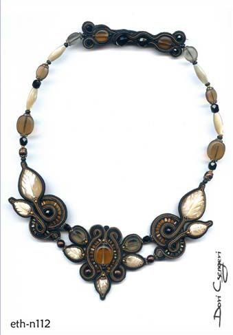 Dori Csengeri Soutache necklace