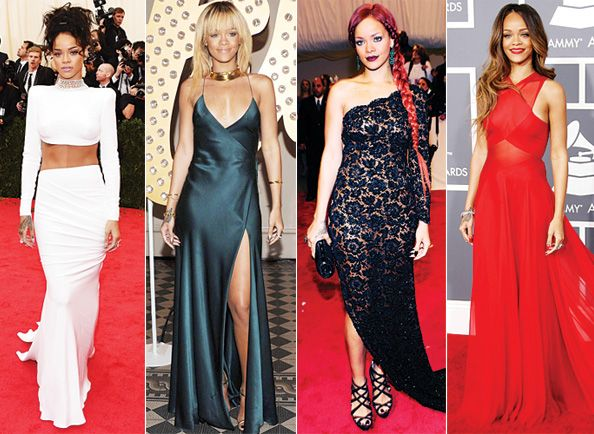 rihanna best outfits - Google Search | Red carpet looks ...
