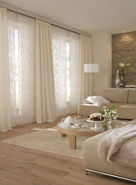 die 25 besten ideen zu gardinen modern auf pinterest. Black Bedroom Furniture Sets. Home Design Ideas