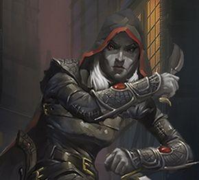 Drow Rogue // Character Sheets | Dungeons & Dragons