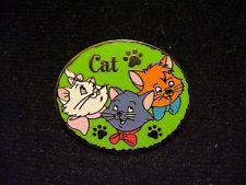 Disney Aristocats Kittens Marie, Berlioz, Toulouse Cast Lanyard Series 1 Pin