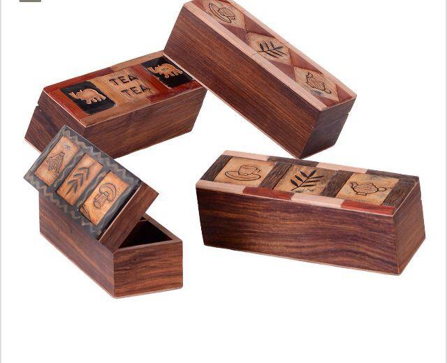 Mejores 29 im genes de cajas decorativas de madera en - Cajas de almacenaje decorativas ...