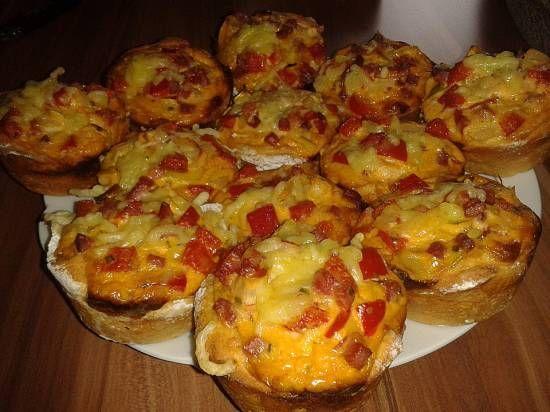 romige mini herfst taartjes als muffins
