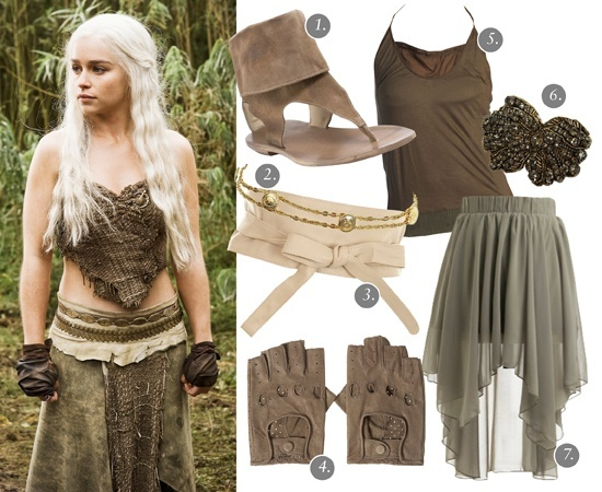 Khaleesi outfit for halloween! New obsession is Game of Thrones