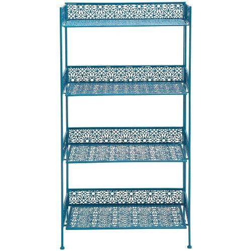 DecMode 4 Shelf Contemporary Bakers Rack