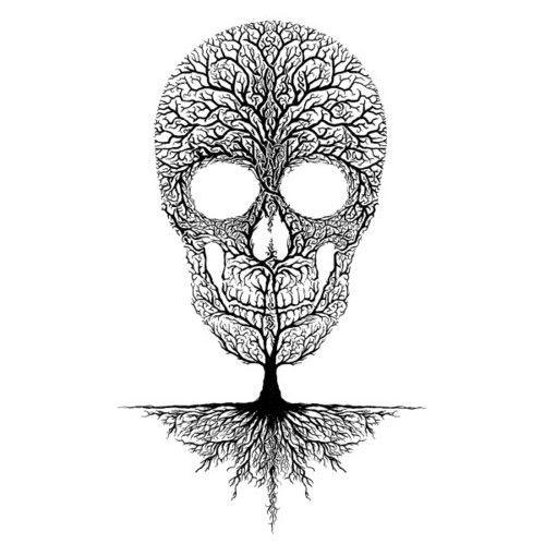 картинки черепа с деревом водитель классный