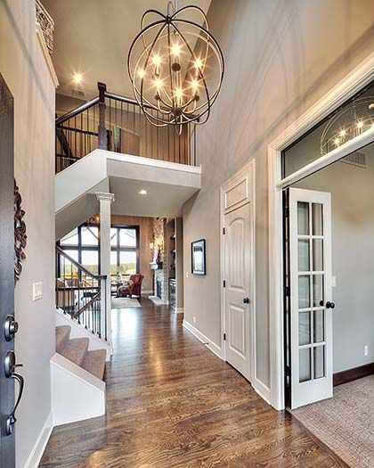 2 Story Entry Way